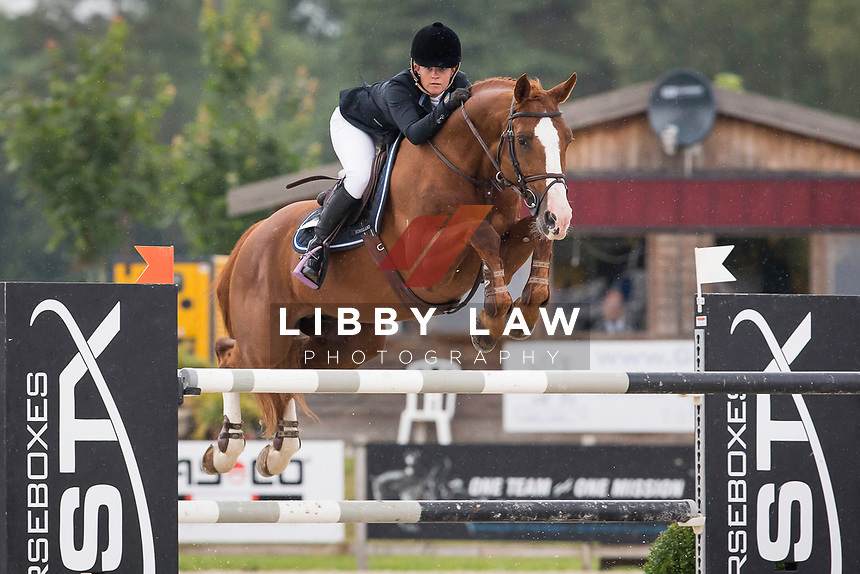 AUS-Jamie Winning (WIRRAGULLA NICKLAUS) CSI3* TABLE A AGAINST THE CLOCK WITH JUMP OFF (145cm): Small Grand Prix - Qalifier for Grand Prix: 2014 BEL-Bonheiden CSI1*/CSI3* (Saturday 28 June) CREDIT: Libby Law COPYRIGHT: LIBBY LAW PHOTOGRAPHY - NZL
