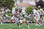 Palos Verdes, CA 05/07/11 - Marc Goodnough (Oak Park #30) and Dean Dillenberg (Palos Verdes #22) in action during the CIF Southern Section North Division Semifinal game between Oak Park and Palos Verdes.