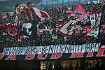 AC Milan fans reveal a banner welcoming the return of Zlatan Ibrahimovic during the Serie A match at Giuseppe Meazza, Milan. Picture date: 6th January 2020. Picture credit should read: Jonathan Moscrop/Sportimage