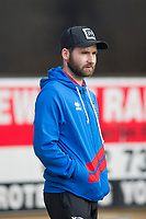 4th January 2020; Dens Park, Dundee, Scotland; Scottish Championship Football, Dundee FC versus Inverness Caledonian Thistle; James Keatings of Inverness Caledonian Thistle inspects the pitch before the match - Editorial Use