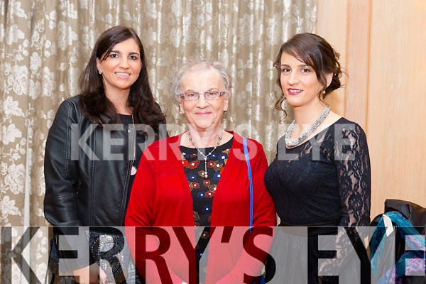 At the KFW Kerry Boutique & Kerry Designer Fashion Show in Ballygary House Hotel on Tuesday were Norma O'Donnell, Eileen Walsh and Caitriona Walsh
