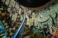 PARIS, FRANÇA, 17.06.2019 - TURISMO-FRANÇA - Vista da The Art Squat Of Paris, uma galeria de alternativa de arte no centro de Paris na França. (Foto: Vanessa Carvalho/Brazil Photo Press)