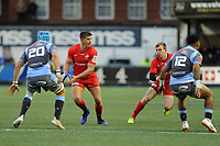 Owen Farrell of Saracens in action during the Heineken Champions Cup match between Cardiff Blues and Saracens at Cardiff Arms Park in Cardiff, Wales. Saturday 15 December 2018