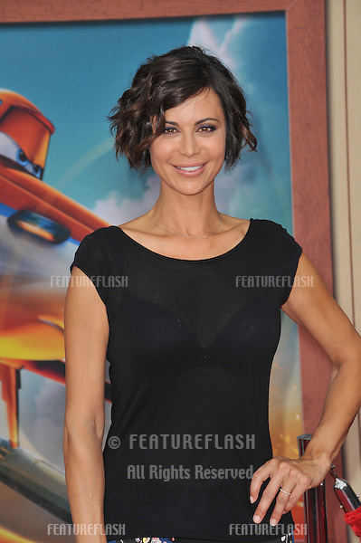 Catherine Bell at the world premiere of Disney's &quot;Planes: Fire &amp; Rescue&quot; at the El Capitan Theatre, Hollywood.<br /> July 15, 2014  Los Angeles, CA<br /> Picture: Paul Smith / Featureflash