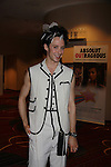 "Olympic figure skater Johnny Weir poses at the Imperial Court of New York's 26th ""Night of a Thousand Gowns"" on March 31, 2012 at the New York Marriott Marquis, New York City, New York.  (Photo by Sue Coflin/Max Photos)"