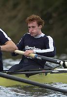 London, GREAT BRITAIN. Oxford University Boat Club Trail VIIIs.Putney to Mortlake. Mark Vickers Varsity: Boat Race [Mandatory Credit: Peter Spurrier: Intersport Images]