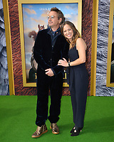 "LOS ANGELES, USA. January 11, 2020: Robert Downey Jr. & Susan Downey at the premiere of ""Dolittle"" at the Regency Village Theatre.<br /> Picture: Paul Smith/Featureflash"