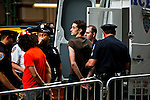 Occupy Wall Street members are detained by NYPD officers during a weekly march called by every friday on Wall Street in New York, United States. 23/03/2012.  Photo by Kena Betancur / VIEWpress.