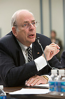 Slug: BENS/HASC Testimony on Acq Task Force Findings and Recommendations.Date: 02-25-2010.Photographer: Mark Finkenstaedt .Location: Rayburn House Office Building - Rm 2261.Washington, DC .Caption:  Norm Augustine testifies before the HASC Testimony on Acq Task Force Findings and Recommendations..© 2010 Mark Finkenstaedt. All Rights Reserved. . No transfers or loans. Only for the use of BENS Only.  No Sales, resales or transfers. .For additional use call the photographer.2022582613.mark@mfpix.com.......Virginia Photographer - DC Photographer - Washington DC Photographer