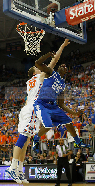 UK point guard Marquis Teague shoots a layup during the first half of the University of Kentucky's men basketball game against University of Florida 3/4/12 at the O'Connell Center in Gainesville, Fl. Photo by Quianna Lige | Staff