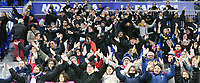 20191116 – LYON ,  FRANCE ; Lyon's supporters are doing Icelandic clap before before the women's soccer game between Olympique Lyonnais and PARIS SG on the 9th matchday of the French Women's first league , D1 of the 2019-2020 season , Saturday 16 th November 2019 at the Groupama stadium in Lyon , France . PHOTO SPORTPIX.BE   SEVIL OKTEM