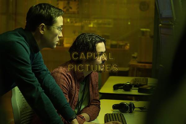 Snowden (2016) <br /> Joseph Gordon-Levitt &amp; Logan Marshall-Green<br /> *Filmstill - Editorial Use Only*<br /> CAP/KFS<br /> Image supplied by Capital Pictures