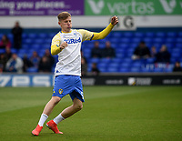 Leeds United's Mateusz Bogusz during the pre-match warm-up <br /> <br /> Photographer Hannah Fountain/CameraSport<br /> <br /> The EFL Sky Bet Championship - Ipswich Town v Leeds United - Sunday 5th May 2019 - Portman Road - Ipswich<br /> <br /> World Copyright © 2019 CameraSport. All rights reserved. 43 Linden Ave. Countesthorpe. Leicester. England. LE8 5PG - Tel: +44 (0) 116 277 4147 - admin@camerasport.com - www.camerasport.com