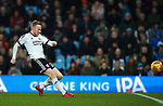 Mark Duffy of Sheffield Utd shoots during the Championship match at Villa Park Stadium, Birmingham. Picture date 23rd December 2017. Picture credit should read: Simon Bellis/Sportimage