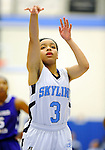 2-24-15, Skyline High School vs Pioneer High School girl's basketball