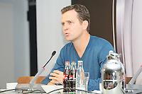 08.10.2014: Pressekonferenz der Nationalmannschaft
