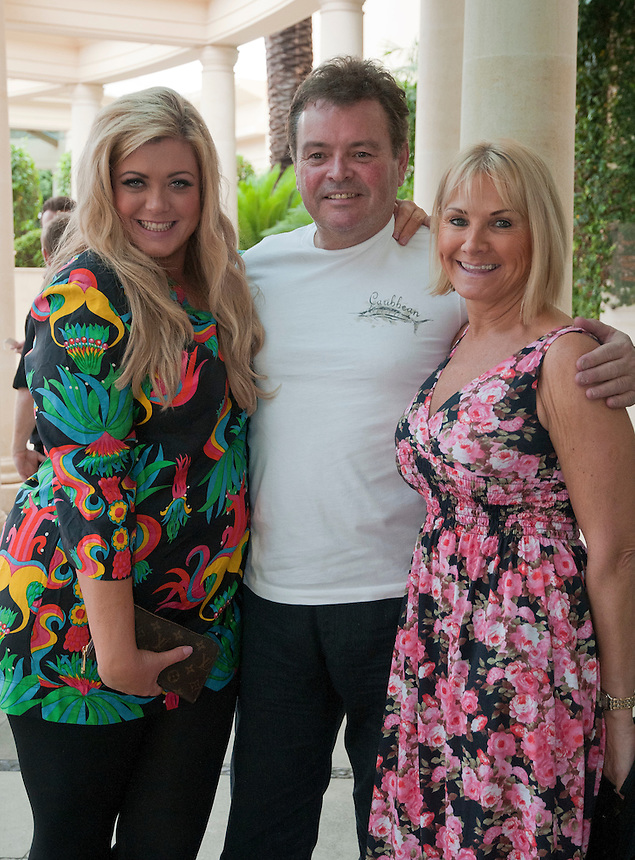 I'm a celebrity Get Me out of here 2011. .GEMMA COLLINS FROM THE ONLY WAY IS ESSEX TOWIE AT THE PALAZZO VERSACE IN SURFERS PARADISE..MEET WITH MR AND MRS WRIGHT MARK WRIGHTS MUM AND DAD.Pic Jayne Russell.24.11.2011.