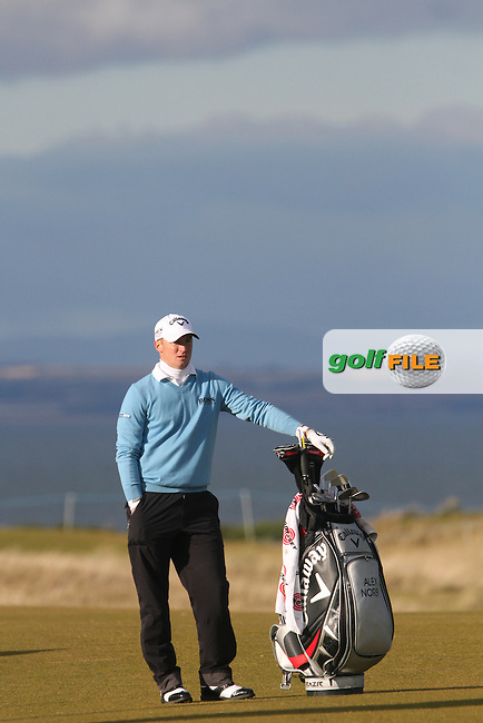 Alexander Noren (SWE) on the 18th in Kingsbarns on the 3rd Day at the Alfred Dunhill Links Championship, Old Course St. Andrews, Carnoustie and Kingsbarns, Scotland...(Photo Jenny Matthews/www.golffile.ie)