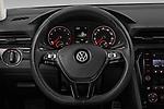 Car pictures of steering wheel view of a 2020 Volkswagen Passat R-Line 4 Door Sedan Steering Wheel