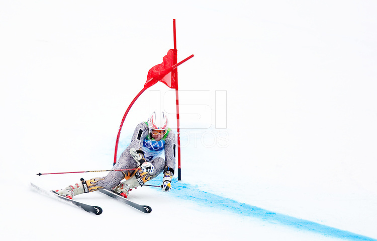 WHISTLER, BC, CANADA--Alpine Skiing, Men's Giant Slalom, Whistler Creekside.