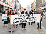 March against household charges. Photo: Colin Bell/pressphotos.ie