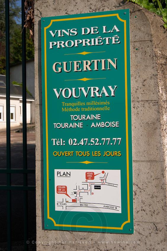 Guertin. Vouvray village, Touraine, Loire, France