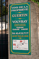 Guertin. Vouvray village, Touraine, Loire, France