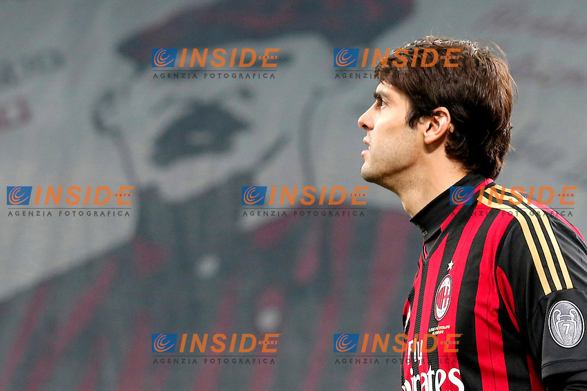 Ricardo Kaka Milan, Milano 16-12-2013, Stadio Giuseppe Meazza, Football Calcio 2013/2014 Serie A, Milan - Roma, Foto Marco Bertorello/Insidefoto