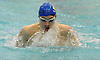 Jack Casey of Hauppauge competes in the 100 yard breaststroke race during Day 1 of the NYSPHSAA varsity boys swimming Federation Championships at Nassau Aquatic Center in East Meadow on Friday, March 2, 2018.