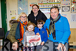Pictured at the Presentation Primary school, Tralee, Grandparents day last Tuesday, Feb 11, at the school, were L-R Ann Sheehan, Saibh McDonnell, Denise &Aida Long with John Sheehan.