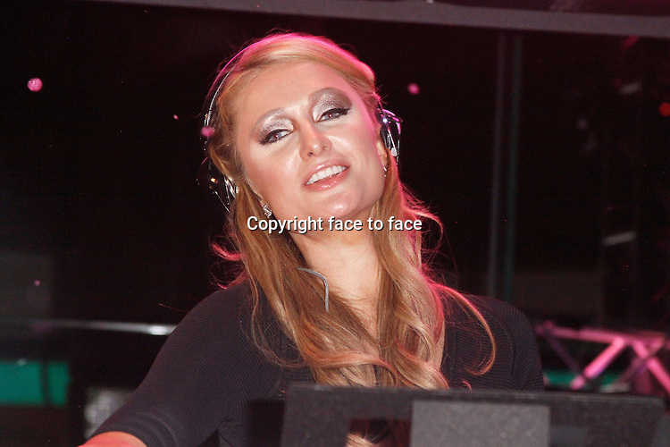 ATLANTIC CITY, NJ - FEBRUARY 1 : Paris Hilton pictured at her inaugrual DJ residency at The Pool at Harrahs in Atlantic City, New Jersey on February 1, 2014 photo credit Star Shooter / MediaPunch<br />