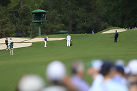 Francesco Molinari (ITA) on the 3rd fairway during the 2nd round at the The Masters , Augusta National, Augusta, Georgia, USA. 12/04/2019.<br /> Picture Fran Caffrey / Golffile.ie<br /> <br /> All photo usage must carry mandatory copyright credit (© Golffile | Fran Caffrey)