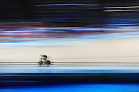 Zac Williams of New Zealand competes in the Men's 1000m Time Trial. Gold Coast 2018 Commonwealth Games, Track Cycling, Anna Meares Velodrome, Brisbane, Australia. 8 April 2018 © Copyright Photo: Anthony Au-Yeung / www.photosport.nz /SWpix.com