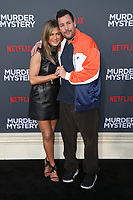 LOS ANGELES, CA - JUNE 10: Jennifer Aniston and Adam Sandler at the Los Angeles Premiere Screening of Murder Mystery at Regency Village Theatre in Los Angeles, California on June 10, 2019. <br /> CAP/MPIFS<br /> ©MPIFS/Capital Pictures