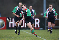 Steven Seymour in the charity match between the Ulster 1999 XV and a Wooden Spoon Select XV at Shaw's Bridge Belfast.  Mandatory Credit - Photo : John Dickson