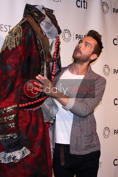 """Headless Horseman, Tom Mison<br /> at """"Sleepy Hollow"""" at the 31st PALEYFEST, Dolby Theater, Hollywood, CA 03-19-14<br /> David Edwards/DailyCeleb.Com 818-249-4998"""