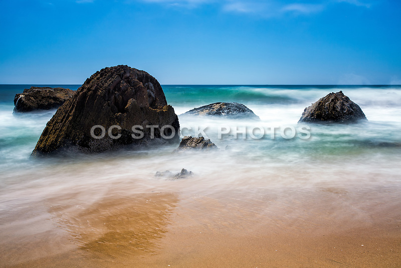 Crystal Cove Sate Park And Beach In Laguna Beach