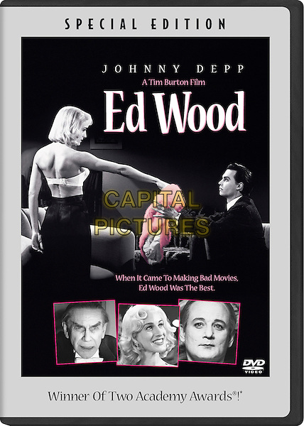 DVD BOX ART.in Ed Wood.*Editorial Use Only*.Ref: FB.www.capitalpictures.com.sales@capitalpictures.com.Supplied by Capital Pictures.
