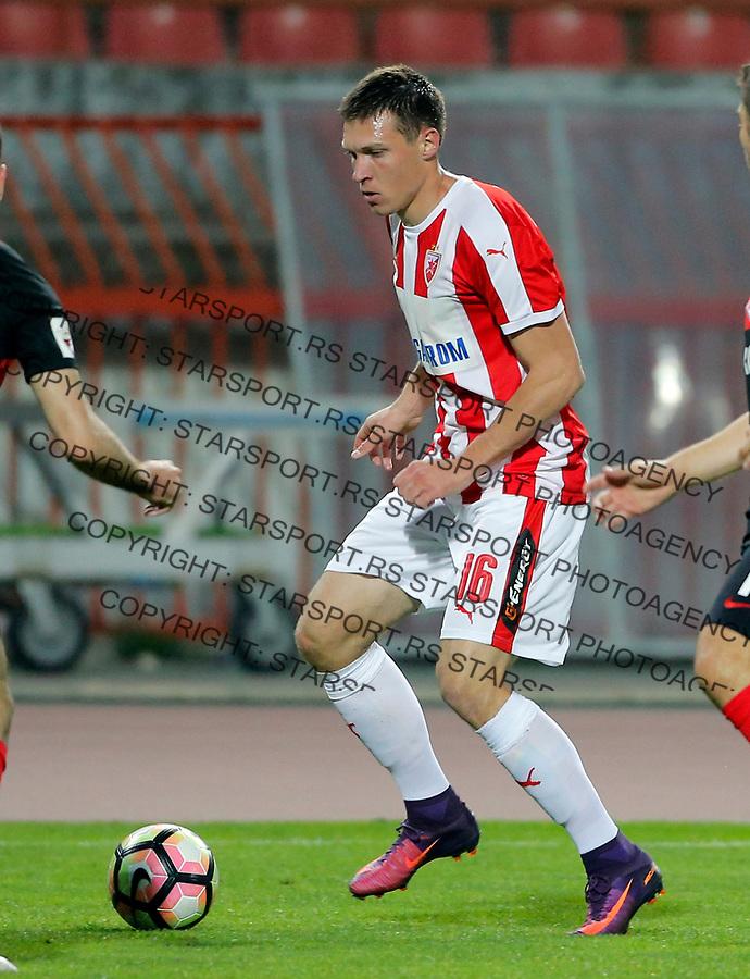 Nemanja Milic Crvena Zvezda - Spartak Moskva prijateljska 25.3.1017. Mart 25. 2017. (credit image & photo: Pedja Milosavljevic / STARSPORT)