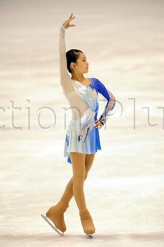 Kanako Murakami (JPN), NOVEMBER 23, 2009 - Figure Skating : 2009 JOC Junior Olympic Cup,  at Yokohama Skate Center, Kanagawa, Japan. Photo by Atsushi Tomura/actionplus UK Licenses Only
