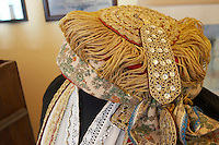 Kir-Yianni Winery, Yianakohori, Naoussa, Macedonia, Greece Traditional costume with elaborate embroideries.