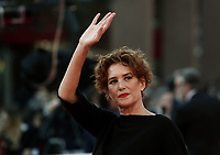 "L'attrice Lucrezia Lante della Rovere posa sul red carpet del film ""La grande guerra"" al Festival Internazionale del Film di Roma, 26 ottobre 2018.<br /> Italian actress Lucrezia Lante della Rovere poses on the red carpet of the movie ""La grande guerra"" during the international Rome Film Festival at Rome's Auditorium, on October 26, 2018.<br /> UPDATE IMAGES PRESS/Isabella Bonotto"