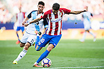 Yannick Ferreira-Carrasco of Atletico Madrid in action during their La Liga match between Atletico Madrid and Deportivo de la Coruna at the Vicente Calderon Stadium on 25 September 2016 in Madrid, Spain. Photo by Diego Gonzalez Souto / Power Sport Images