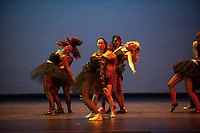 Occidental College students perform in the dress rehearsal of Dance Production on March 21, 2013 in Thorne Hall. This year is the 65th anniversary of Dance Pro, which is student-choreographed and student-performed. (Photo by Marc Campos, Occidental College Photographer)