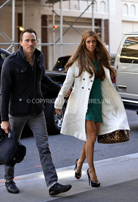 WWW.ACEPIXS.COM....April 3 2013, New York City....Lydia McLaughlin arriving at a Soho hotel on April 3 2013 in New York City........By Line: Curtis Means/ACE Pictures......ACE Pictures, Inc...tel: 646 769 0430..Email: info@acepixs.com..www.acepixs.com