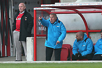 Dagenham and Redbridge manager Peter Taylor during Ebbsfleet United vs Dagenham & Redbridge, Vanarama National League Football at The Kuflink Stadium on 13th April 2019