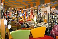 Bright bold colorful furniture, deco, 50's,  Moderne Art Deco