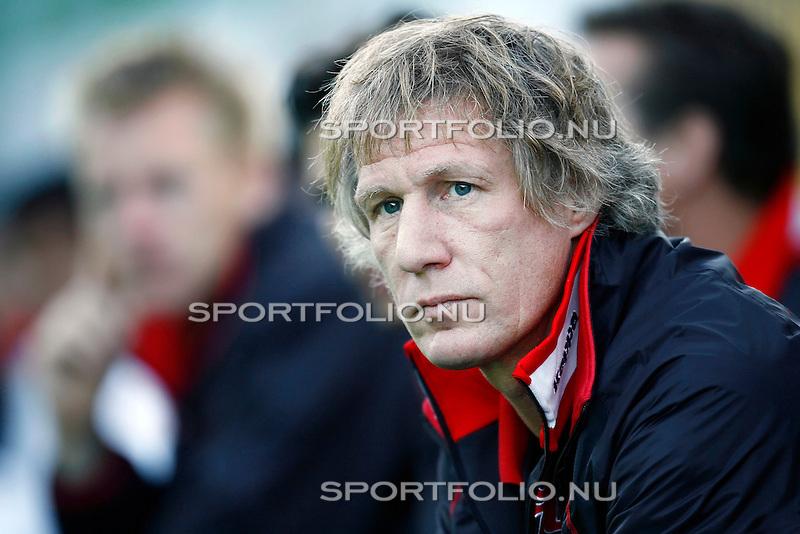 Oostenrijk, Fulpmes, 24 juli 2008,.vriendschappelijk/Trainingskamp.Fulpmes-Feyenoord  .Gertjan Verbeek trainer-coach van Feyenoord in Oostenrijk