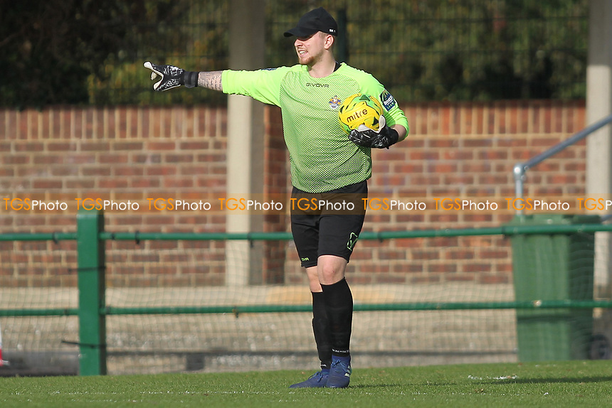 Rhys Hughes of Romford during Romford vs Coggeshall Town, Bostik League Division 1 North Football at Rookery Hill on 13th October 2018