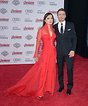 "Ming-Na Wen and Jeremy Renner attends The World Premiere of Marvel's ""Avengers"" Age of Ultron,"" held at The Dolby Theatre in Hollywood, California on April 13,2015                                                                               © 2014 Hollywood Press Agency"